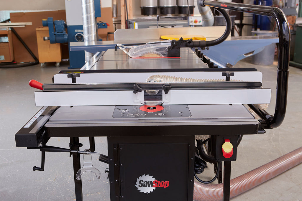SawStop In Line Router Table for ICS installed
