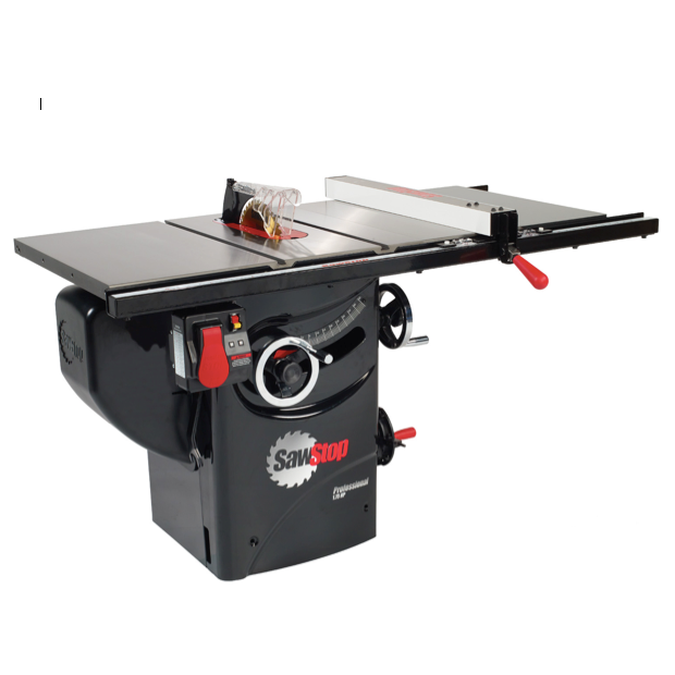 "SawStop Professional Cabinet Saw with 30"" Premium Rip Fence"