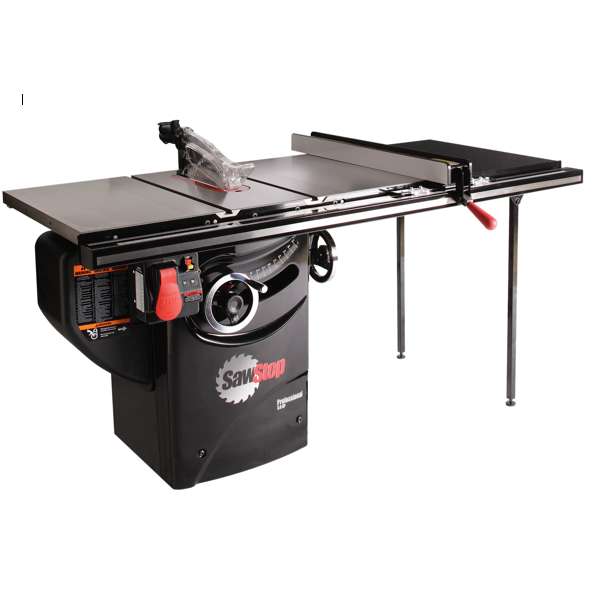 "SawStop Professional Cabinet Saw with 36"" Professional T Fence"