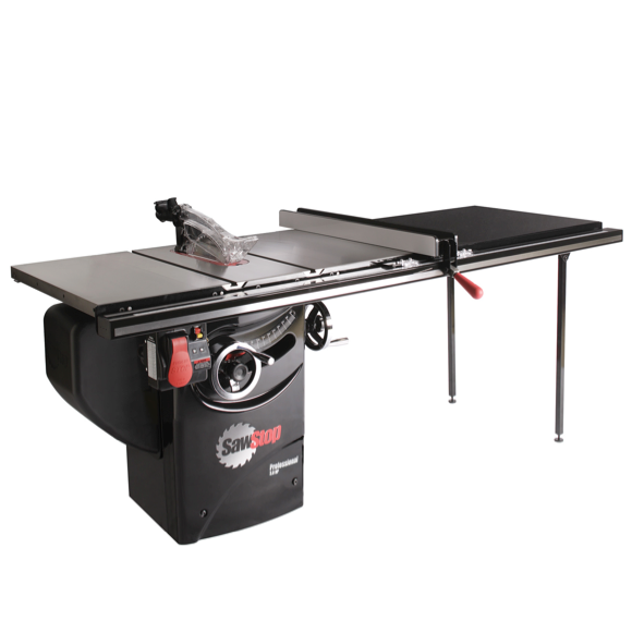 "SawStop Professional Cabinet Saw with 52"" Professional T Fence"