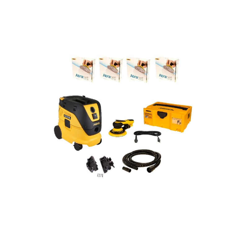 "DEROS 5"" Kit with Dust Extractor"