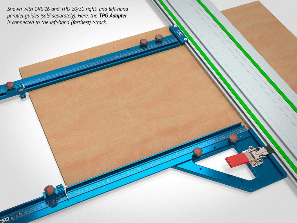 Guide Rail Adapter for TPG Parallel Guide System
