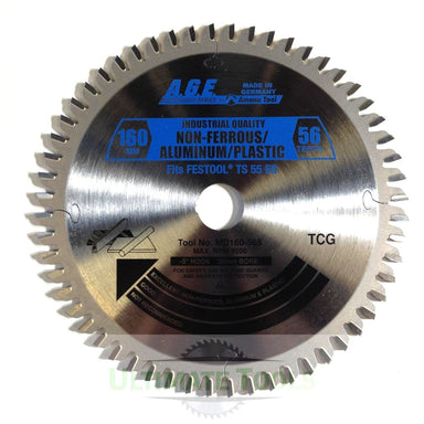 TS 55 Track Saw Blades for Plastic/Aluminum and Steel