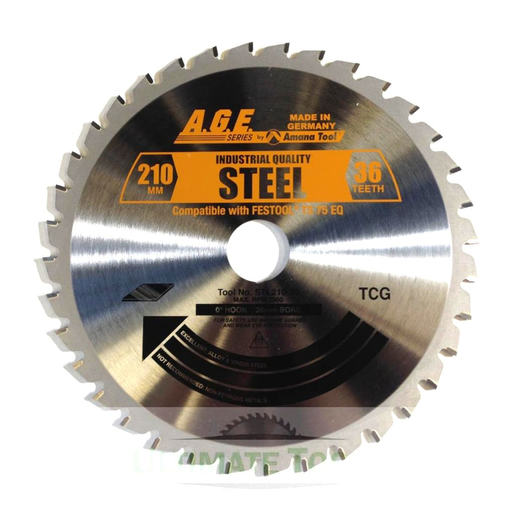 TS 75 Track Saw Blades for Plastic/Aluminum and Steel