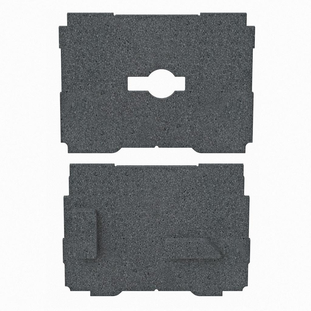 Ultimate Tools GRS-16 & GRS-16-PE NEXGEN Foam Insert for Systainer