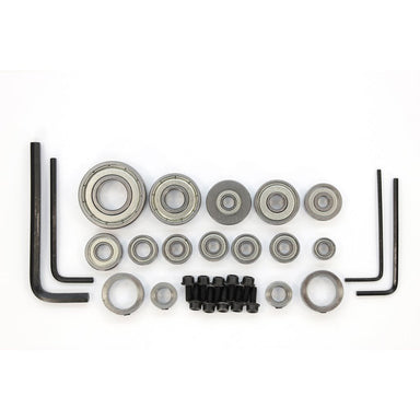 Ultimate Tools Whiteside Bearing Accessory Kit - 30 Pieces including Bearings  Lock Collars and Screws.