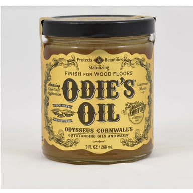 Odie's Oil Finish for Wood Floors - 9oz Jar