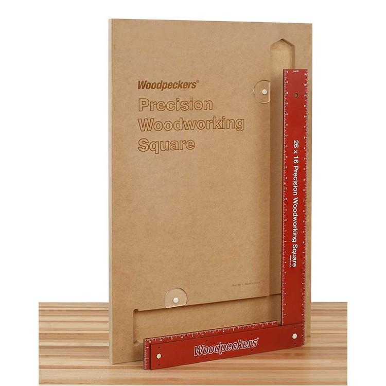 "Woodpeckers Woodpeckers Precision Framing Squares - RETIRED, 18"" Square with Case - Ultimate Tools - 3"