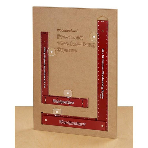 "Woodpeckers Woodpeckers Precision Framing Squares - RETIRED, 18"" + 26"" Squares with Case - Ultimate Tools - 1"