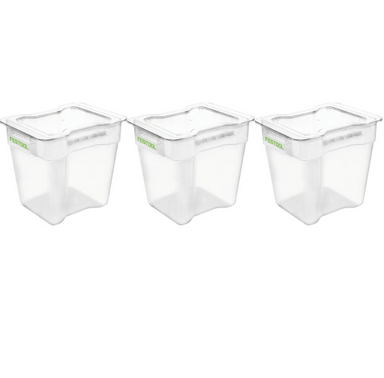 CT CYCLONE Collection Container 3 Pack VAB-20/3