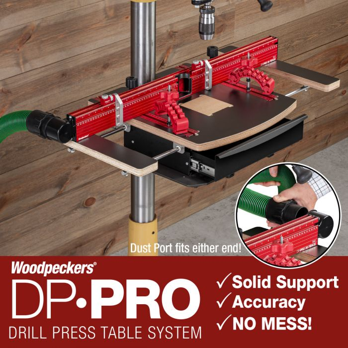Woodpeckers Drill Press Table Pro System