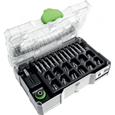 Centrotec Mini Systainer T-Lock Set For Festool Cordless Drills