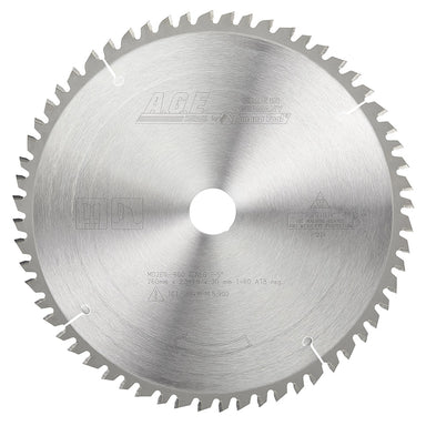 Amana MD260-600 Carbide Tipped General Purpose Saw Blade 260mm D x 60T ATB, -5 Deg, 30mm Bore. Fits FESTOOL Kapex® Mitre Saw
