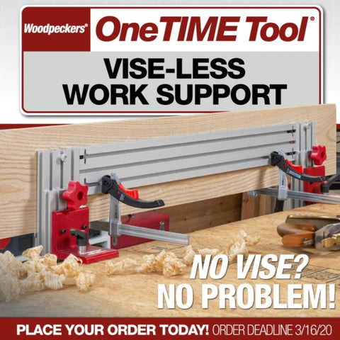 Vise-less Work Support - OneTIME Tool