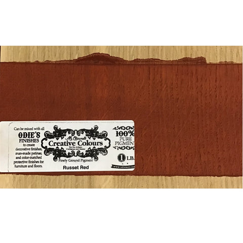 Mr. Cornwall's Custom Colours - Russet Red