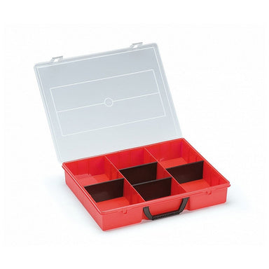 Tanos Red Tanos Organizer Box with Adjustable Dividers,  - Ultimate Tools