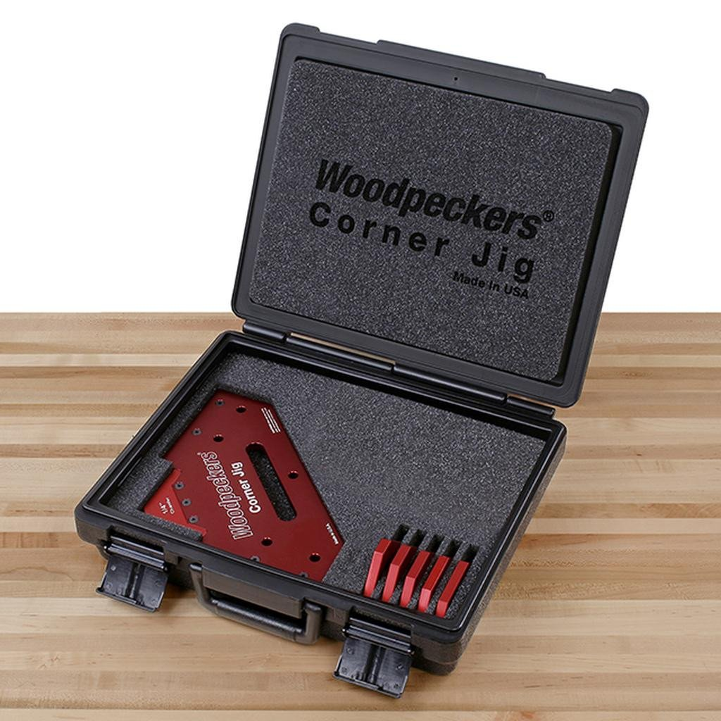 Woodpeckers Woodpeckers Precision Corner Jig - OneTIME Tool, Chamfer Set Only - Ultimate Tools - 7