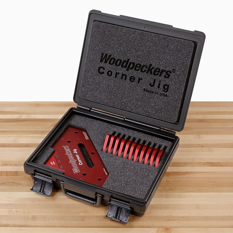 Woodpeckers Woodpeckers Precision Corner Jig - OneTIME Tool, Radius Set Only - Ultimate Tools - 6