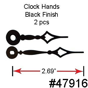 Clock Hands & Numbers