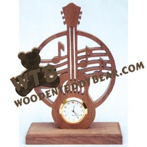 Mini Guitar Clock