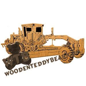 Heavy Equipment Set Fretwork Scroll Saw Pattern | The Wooden Teddy Bear