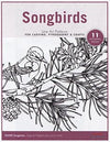 Songbirds Line Art Pattern Pack
