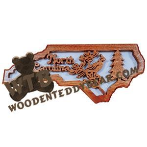 States & Provinces | Scroll Saw Patterns | Wooden Teddy Bear