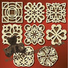 Assorted Trivets #5 fretwork scroll saw pattern |The Wooden Teddy Bear