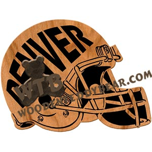 Football Helmets fretwork scroll saw patterns | The Wooden Teddy Bear