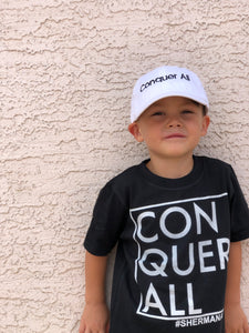 Conquer All Toddler Hat - White