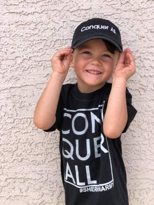 Conquer All Toddler Hat - Black