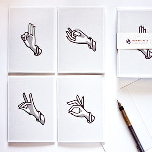 Mudra Notecards