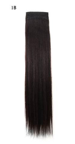 100% European Remy Weft Hair Extensions #1B