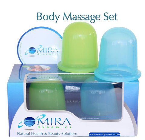 MIRA NATURAL HEALTH & BEAUTY SOLUTIONS Massage Body Cups