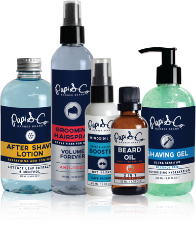 Papi & Co. Men's Grooming Holiday Gift Set.