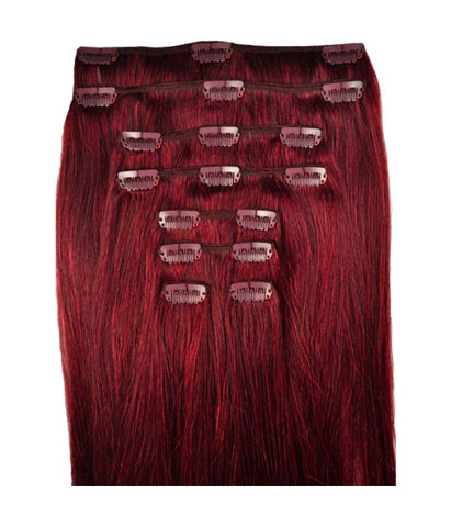 Hair Extensions - Cherry #33 Dark Auburn