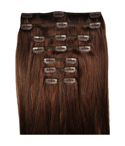 Hair Extensions - Dusk #2 Dark Brown