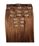 Hair Extensions - Sugar&Spice #6 Chestnut Brown