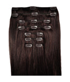 Hair Extensions - Twilight #1B Natural Brown
