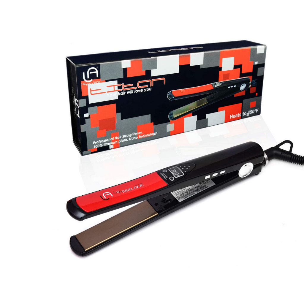 "Titan 1"" Titanium Digital Flat Iron"