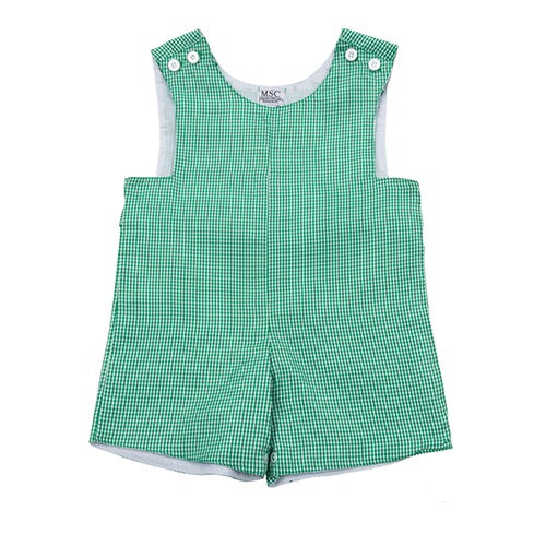 Boy's Gingham Shortall