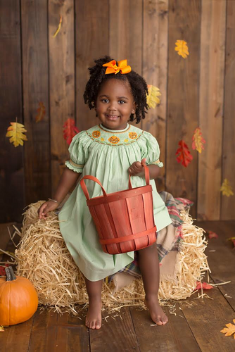 Pretty Girl Pumpkin Dress