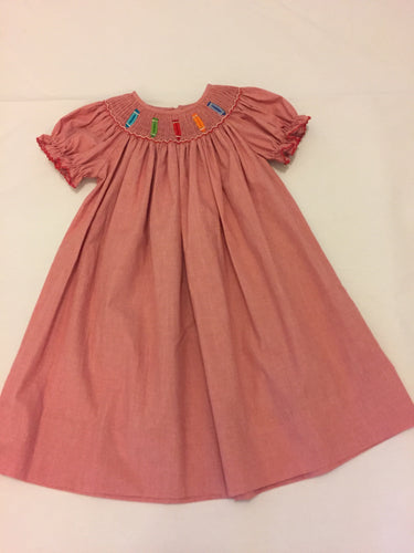 Carter Color Me Fancy Smocked Dress