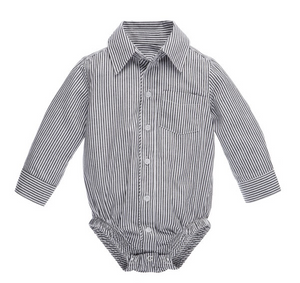 Greyson Grey & White Diaper Shirt