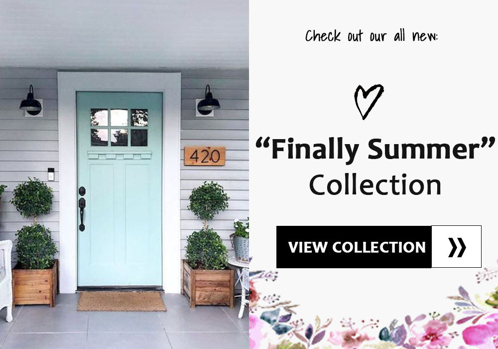 Modern Farmhouse Summer Collection