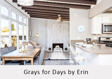 Grays for Days by Erin of Natural Habitat