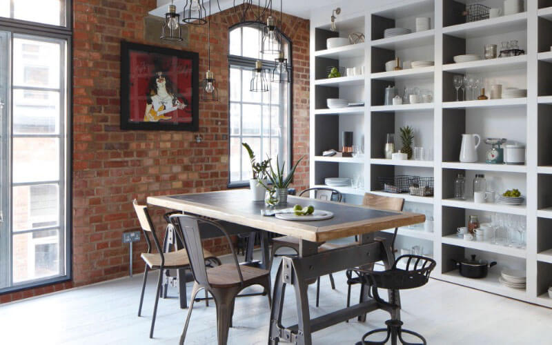 Industrial Style Decor
