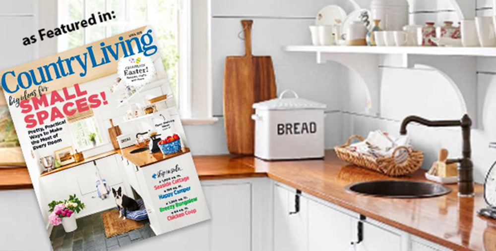 Kitchen Containers and Storage as featured in Country Living Magazine