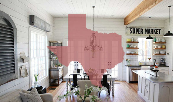 Vintage, Industrial, and Modern Farmhouse Decor - We Heart Decor