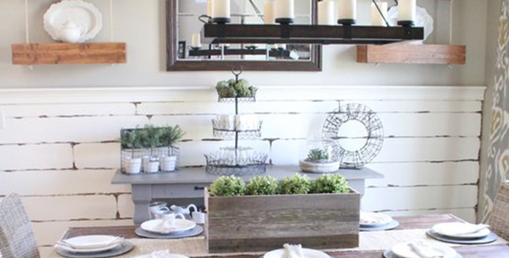 Industrial, Vintage, and Farmhouse Kitchen Decor